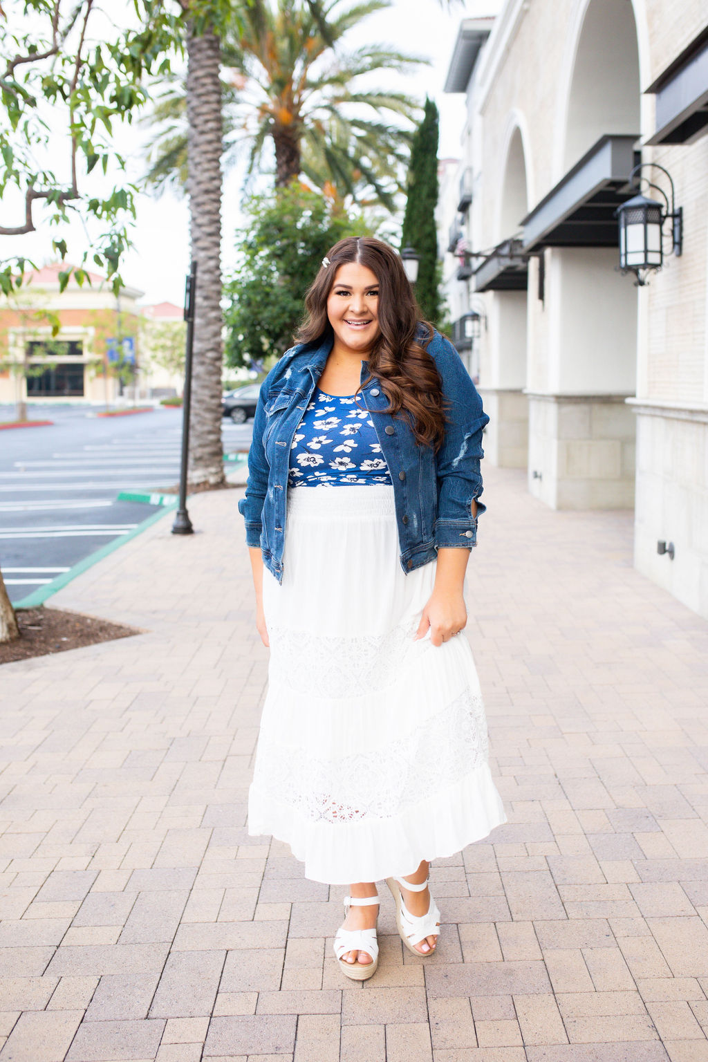 Plus Size Summer Fashion Skirt