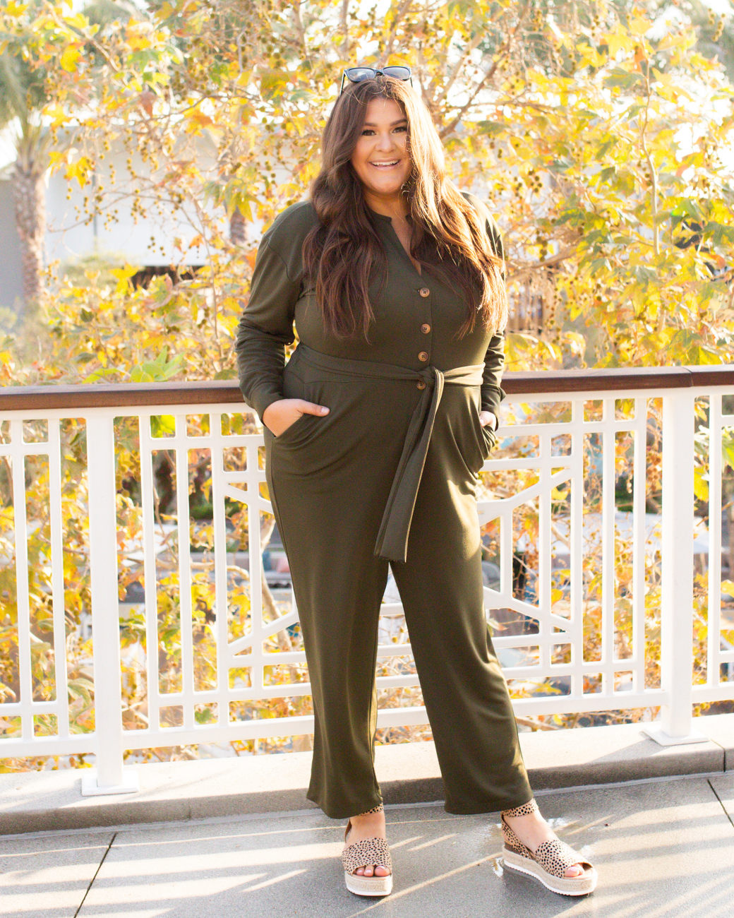Plus Size Fall Fashion Jumpsuit